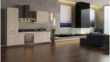 Organic Lumber kitchenette