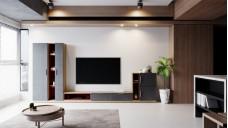 Lit Tv unit